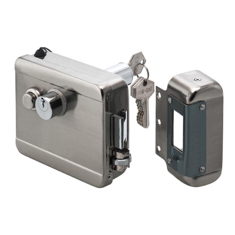 03005 Kilitli Kapı Otomatiği (Mekanik Buton)