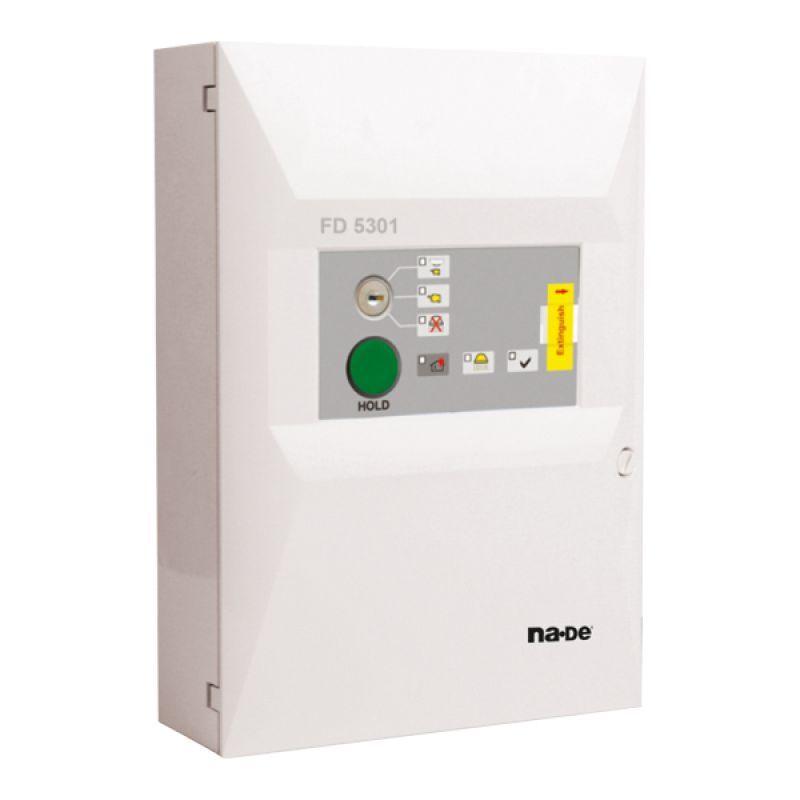 FD5301 Yangın Söndürme Prosedürünün Kontrol ve İşaretinin Tekrarlanmasını Sağlayan Modüldür. FS5200E Santraliyle Uyumlu Çalışır