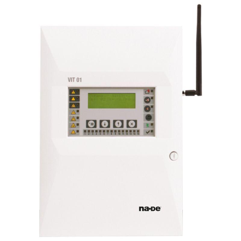 VIT01 Kablosuz Adreslenebilir Yangın Alarm Santrali