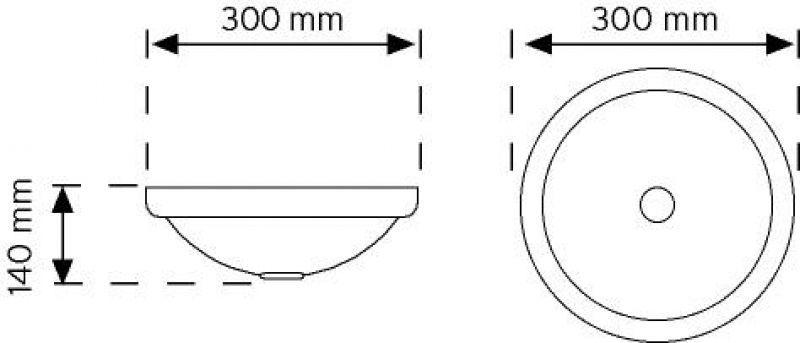 TA 10110 Aydınlatma Armatürü şema