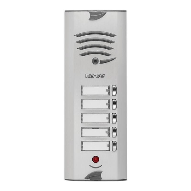 GTHP Apartman Tipi Telefonlar için Tek Butonlu Zil Panelleri (Gizlilikli)