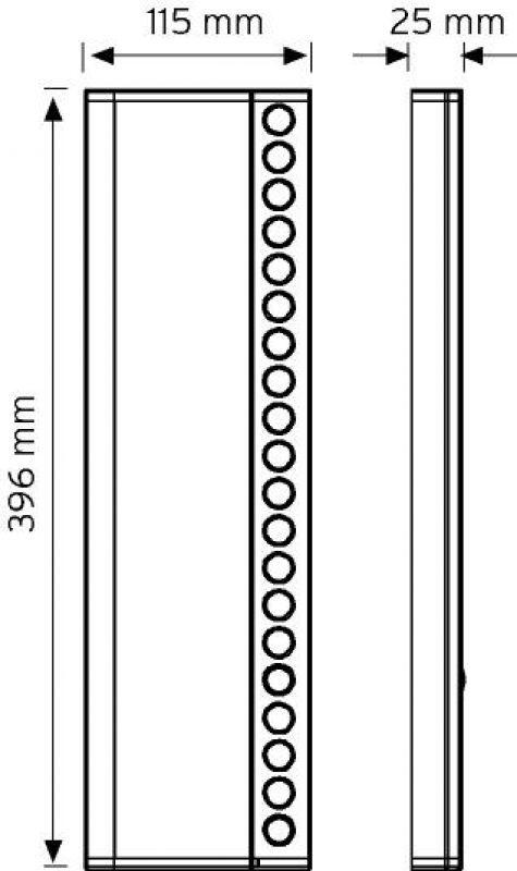 NDEK02-396-20 Butonlu Tip Ek Zil Panelleri şema