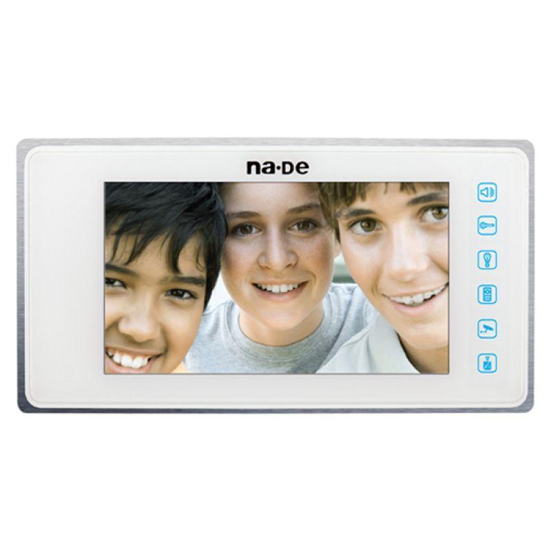 """NVM-800MCW Beyaz 7"""" Renkli Görüntülü Diafon"""