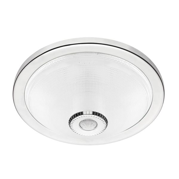 LedDuylu - Sensörlü - TavanArmatürü - 360Derece - DijitalSensörlü - Krom - ŞeffafCam
