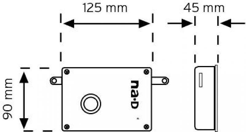 03004 Döküm Kapı Otomatiği (Mekanik Butonlu)