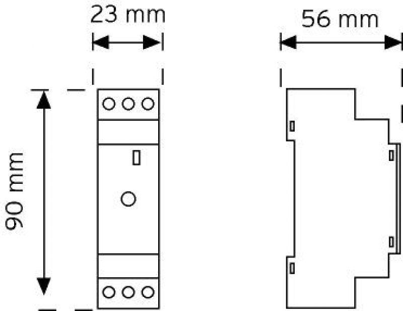 03006 W Otomat Tipi Merdiven Otomatiği 16A şema