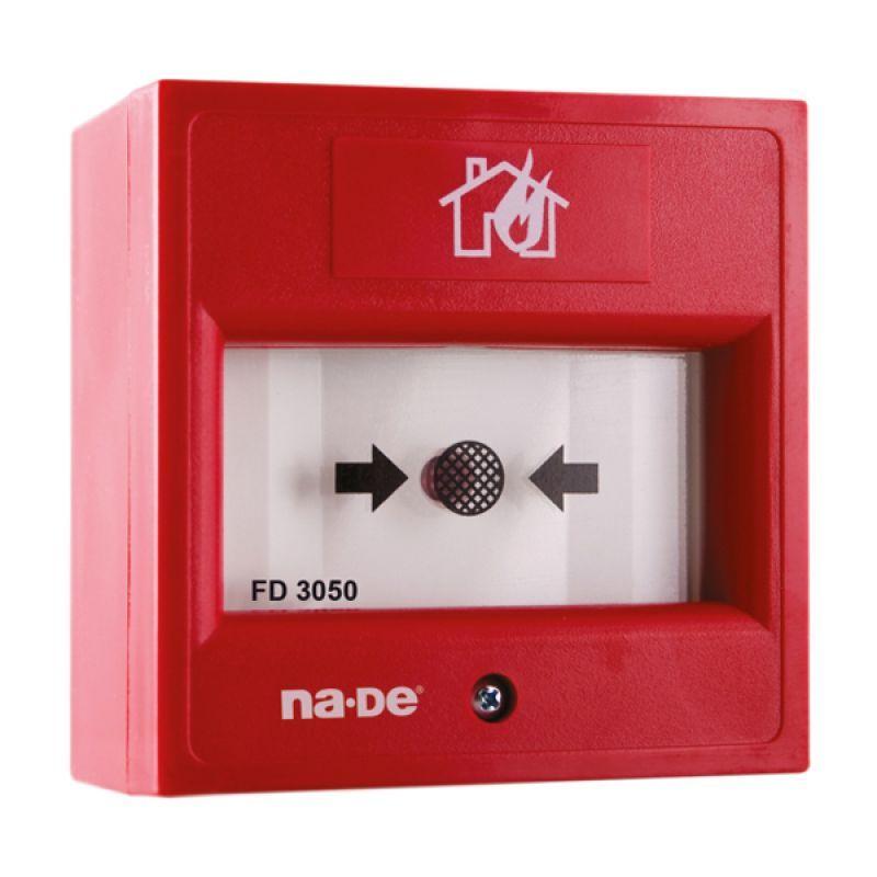 FD3050R Yangın Alarm Butonu 10-30VDC (Resetlenebilir) (Şeffaf Kapaksız)
