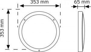 10973 Acil Aydınlatma Özellikli LED'li Aydınlatma Armatürü şema