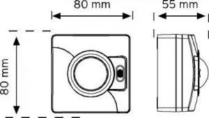 10100 Switch Tipi Hareket Sensörü şema