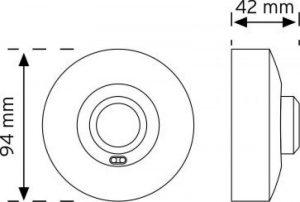 10367 Tavan tipi HF (radar) Sensörü şema