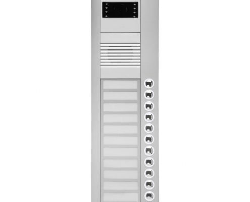 8NDC-396-12 Butonlu Tip Renkli Kameralı Zil Panelleri
