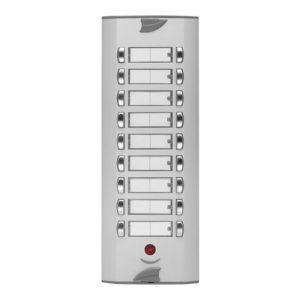 GTHSÇ Apartman Tipi Telefonlar için Çift Butonlu Zil Panelleri (Gizlilikli)