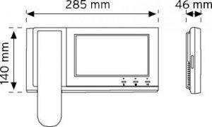 M1607BCR Güvenlik Telefonu şema