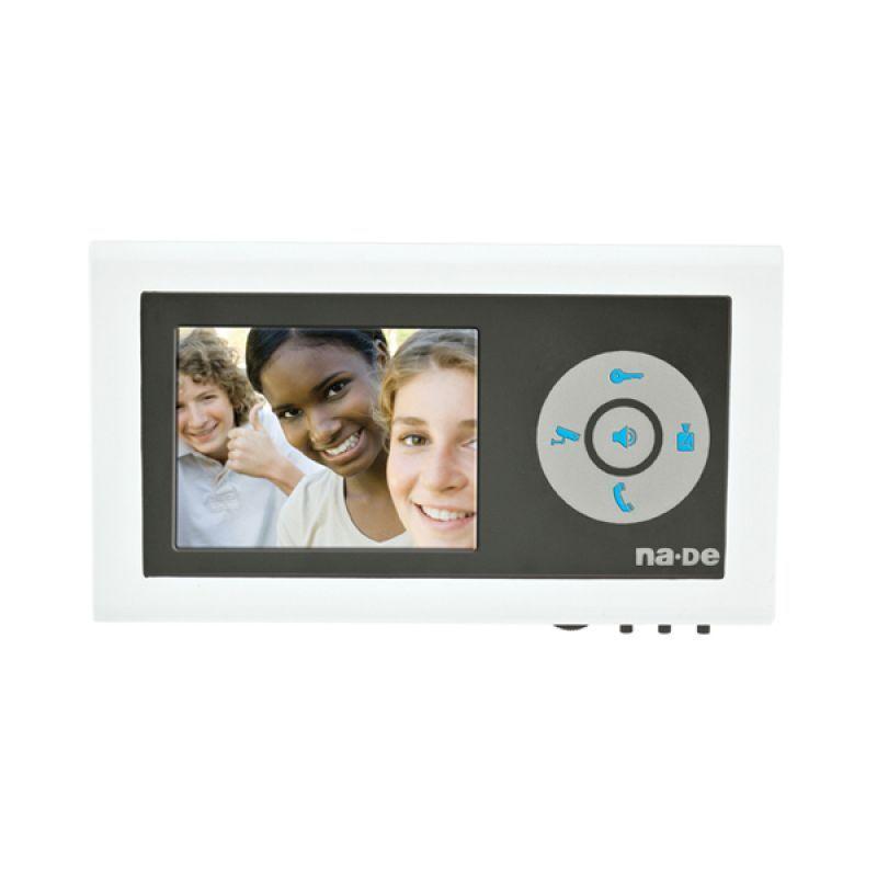 """NVM-350 MCW Beyaz 3,5"""" Renkli Görüntülü Diafon"""