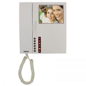 """NVM-550MC 4,3"""" Renkli Görüntülü Telefon ( Daireler arası görüşme özellikli )"""