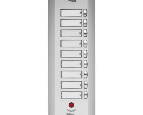 HS Apartman tipi tek butonlu diafon zil panelleri