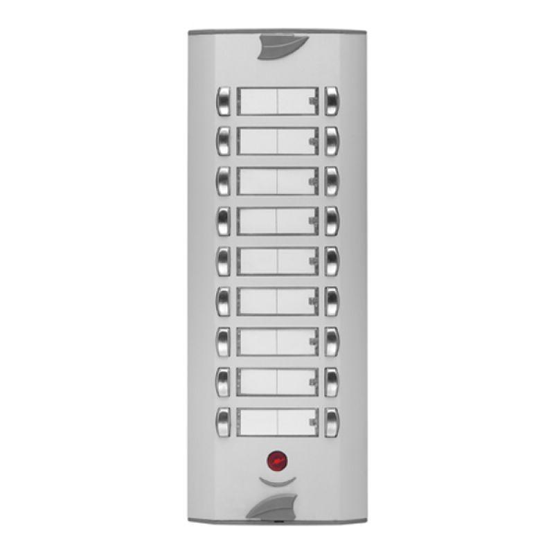 HSÇ Apartman tipi çift butonlu diafon zil panelleri