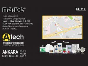 ATECH Akıllı Bina Teknolojileri fuarında görüşmek üzere