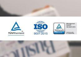 Na-De ElektronikISO 9001:2015 kalite yönetim sertifikasını almaya hak kazanmıştır.