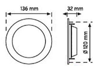 Downlight - 4inç - TavanArmatürü - Spot - Sıvaaltı - Ledli - TSEBelgeli - Acilkit - Şarjlı - Sensör
