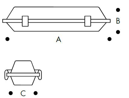 Sıvaüstü - UTip - Etanj - Armatür - Polikarbon - EnecSürücü - YüksekVerimli - AcilKitli - Ledli